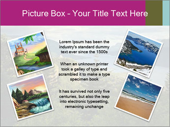 Cliffs In Columbia PowerPoint Template - Slide 24