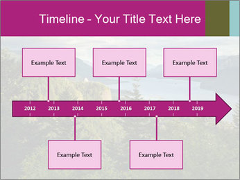 Cliffs In Columbia PowerPoint Templates - Slide 28