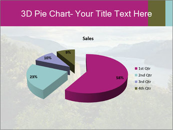 Cliffs In Columbia PowerPoint Template - Slide 35
