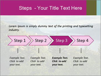 Cliffs In Columbia PowerPoint Templates - Slide 4
