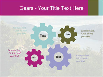 Cliffs In Columbia PowerPoint Templates - Slide 47