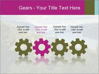 Cliffs In Columbia PowerPoint Templates - Slide 48