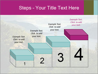 Cliffs In Columbia PowerPoint Templates - Slide 64