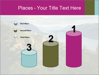 Cliffs In Columbia PowerPoint Template - Slide 65