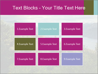 Cliffs In Columbia PowerPoint Template - Slide 68
