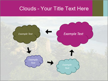 Cliffs In Columbia PowerPoint Templates - Slide 72