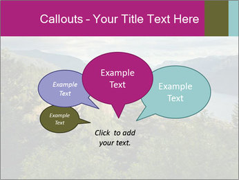 Cliffs In Columbia PowerPoint Templates - Slide 73
