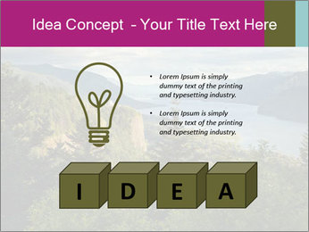 Cliffs In Columbia PowerPoint Templates - Slide 80