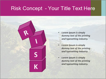 Cliffs In Columbia PowerPoint Templates - Slide 81
