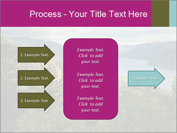 Cliffs In Columbia PowerPoint Template - Slide 85