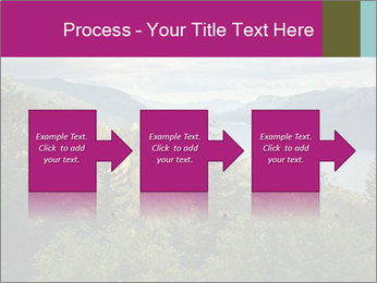 Cliffs In Columbia PowerPoint Templates - Slide 88