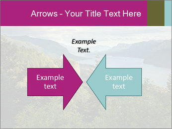 Cliffs In Columbia PowerPoint Templates - Slide 90