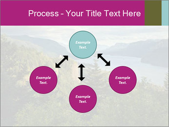 Cliffs In Columbia PowerPoint Template - Slide 91