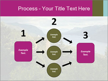Cliffs In Columbia PowerPoint Template - Slide 92