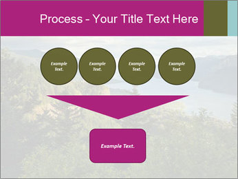 Cliffs In Columbia PowerPoint Templates - Slide 93