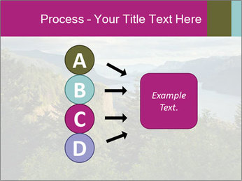 Cliffs In Columbia PowerPoint Template - Slide 94
