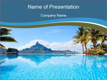 Trip To Polynesia PowerPoint Template - Slide 1