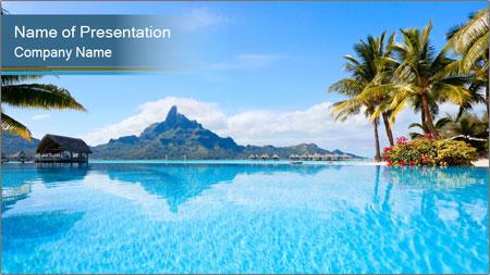 Trip To Polynesia PowerPoint Template