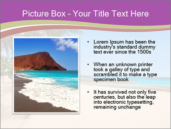 Scenic Beach PowerPoint Template - Slide 13