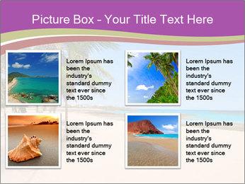 Scenic Beach PowerPoint Template - Slide 14