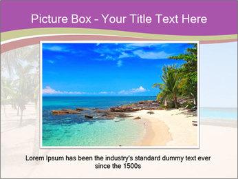 Scenic Beach PowerPoint Template - Slide 15