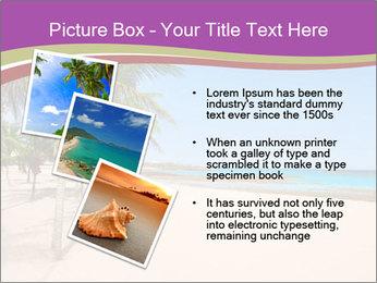 Scenic Beach PowerPoint Template - Slide 17