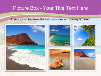 Scenic Beach PowerPoint Template - Slide 19
