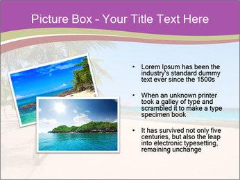 Scenic Beach PowerPoint Template - Slide 20