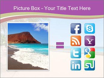 Scenic Beach PowerPoint Template - Slide 21