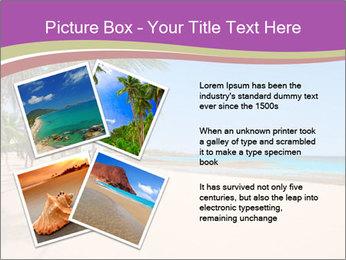 Scenic Beach PowerPoint Template - Slide 23