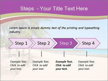 Scenic Beach PowerPoint Template - Slide 4