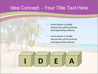 Scenic Beach PowerPoint Template - Slide 80