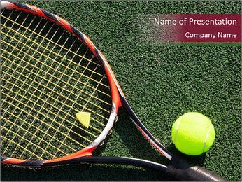 Tennis Professional Equipment Modèles des présentations  PowerPoint