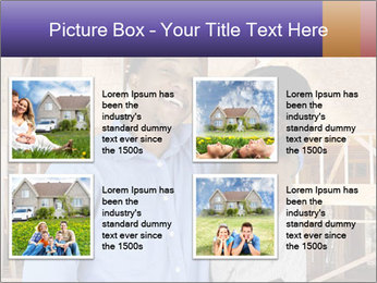 African Married Couple PowerPoint Templates - Slide 14