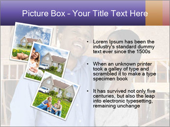 African Married Couple PowerPoint Templates - Slide 17
