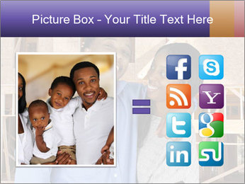 African Married Couple PowerPoint Templates - Slide 21