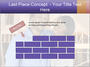 African Married Couple PowerPoint Template - Slide 46