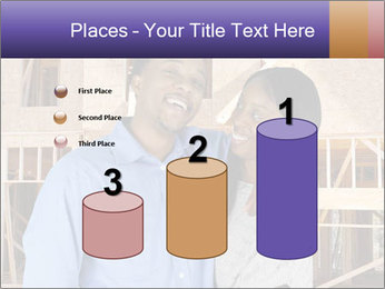 African Married Couple PowerPoint Templates - Slide 65