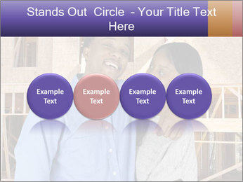 African Married Couple PowerPoint Templates - Slide 76