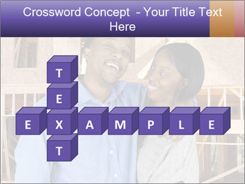 African Married Couple PowerPoint Template - Slide 82