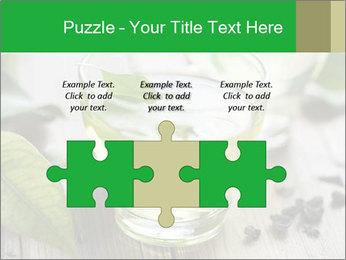 Antioxidant Herbal Tea PowerPoint Template - Slide 42