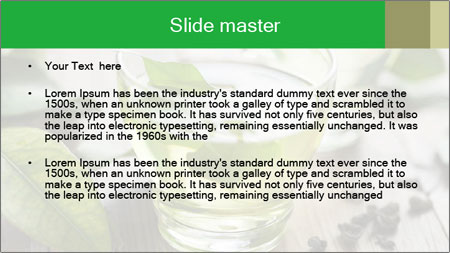 Antioxidant Herbal Tea PowerPoint Template - Slide 2