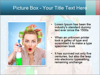 Funny Housewife PowerPoint Template - Slide 13
