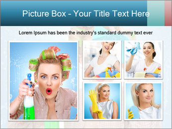 Funny Housewife PowerPoint Template - Slide 19