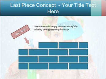 Funny Housewife PowerPoint Template - Slide 46