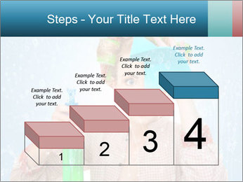 Funny Housewife PowerPoint Template - Slide 64