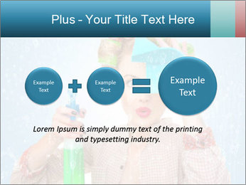 Funny Housewife PowerPoint Template - Slide 75
