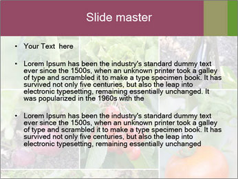 Organic Veggies PowerPoint Templates - Slide 2