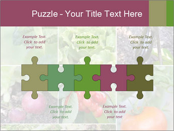 Organic Veggies PowerPoint Template - Slide 41