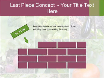 Organic Veggies PowerPoint Template - Slide 46